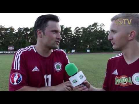 Futbola diena 2015 vēstnesis Andris Bulis Zēnu Futbola festivālā