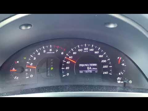 Реальный расход топлива Camry 40 2.4 #1