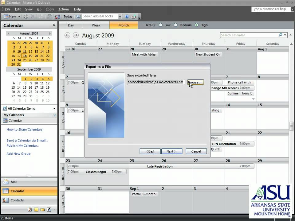 Importing Outlook Calendar Into Gmail Youtube