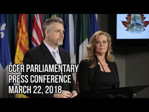 CCFR Parliamentary Press Conference: Bill C-71