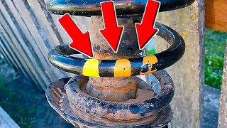 Как выбрать пружины для автомобиля согласно маркировке жёсткости - ЦВЕТОВАЯ МАРКИРОВКА ПРУЖИН