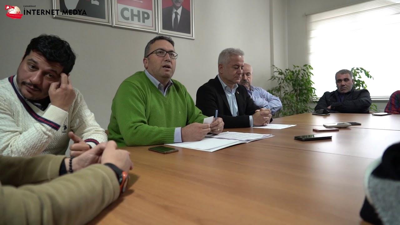 Chp İl Başkanlığı Eğilim Yoklaması Basın Toplantısı