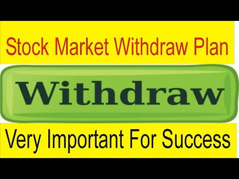 Withdraw Profits Stock Market Plan | Very Important for success In Forex Trading Business  TaniForex