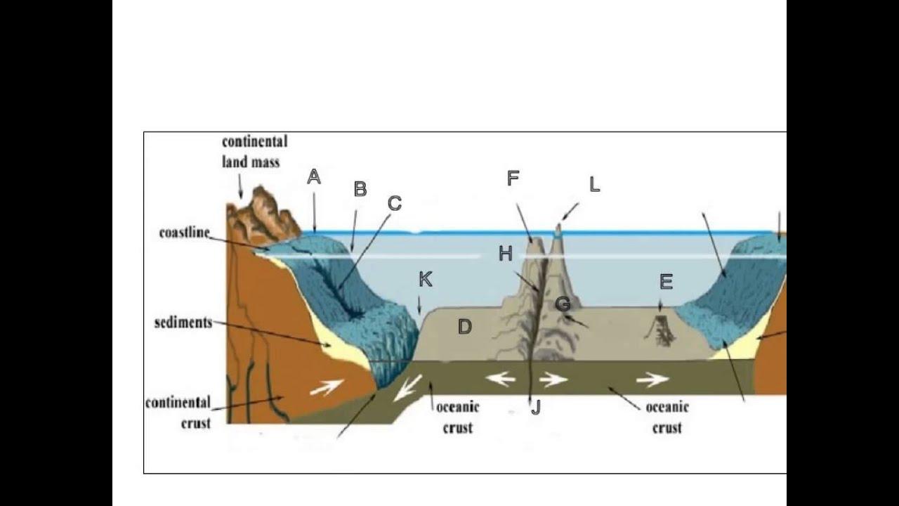 ocean floor topography [ 1280 x 720 Pixel ]