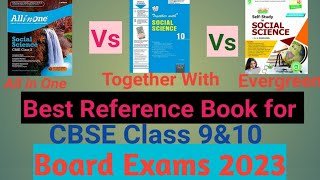 Best Reference Book for CBSE Class 9 amp 10 Social Science 2020-21 class 10