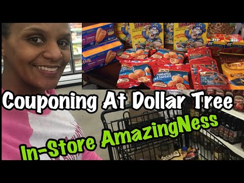 Dollar Tree Couponing For Food & Fall Decor 8/12/18