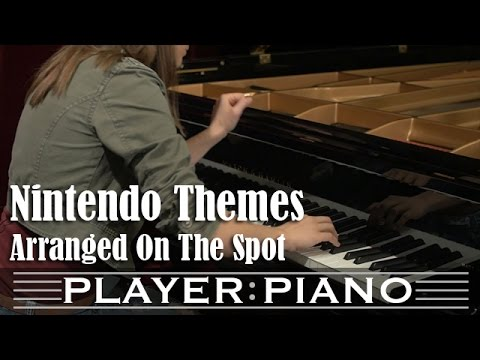 Nintendo Themes (On the Spot) - PLAYER PIANO