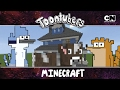 Eu sobrevivi a selva do Minecraft!!!  | Toontubers | Cartoon Network