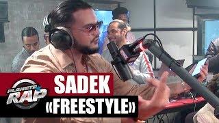 Sadek en freestyle dans #PlanèteRap