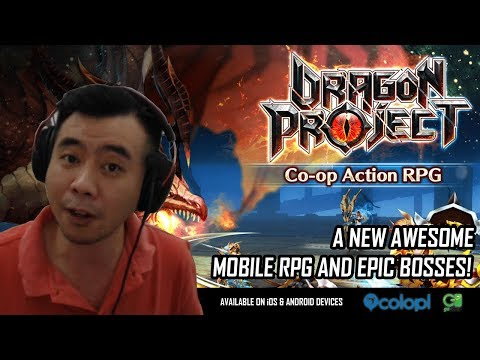Dragon Project! New RPG Mobile Game & EPIC Bosses! Review, Gameplay and Giveaway