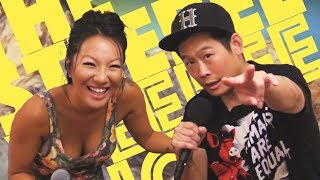 Asa Akira on The Steebee Weebee Show s2 ep12