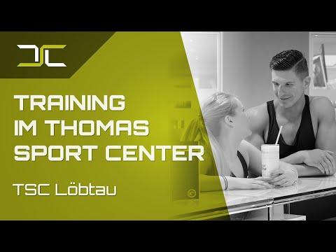 Training im Thomas Sport Center - Fitness in Dresden