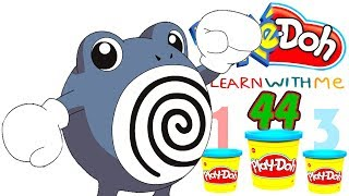 Ding Ding! Mike Tyson Vs Poliwhirl! Put Your Boxing Gloves On! Play doh numbers letters n fun! 44!