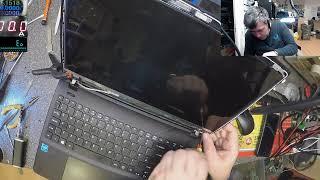 Acer es1-531, no backlight and hinge repair