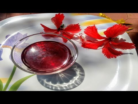 Healthy Hibiscus Petals / செம்பருத்தி இதழ்கள் drink | For smooth internal body, heart functioning