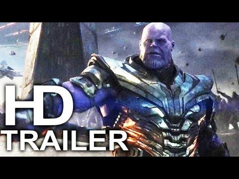 """NEW OFFICIAL AVENGERS ENDGAME TV SPOT """"Thanos Tries to Kill Iron Man"""" (TONS OF NEW FOOTAGE)"""