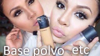 Repeat youtube video Tutorial De Maquillaje: Como Aplicar Base Y Polvo - JuanCarlos960
