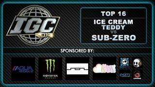 [IGC 2013] Ice Kream Teddy vs Sub-Zero - Top 16 [EmazingLights.com]