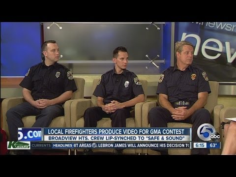 Broadview Heights firefighters talk about making video