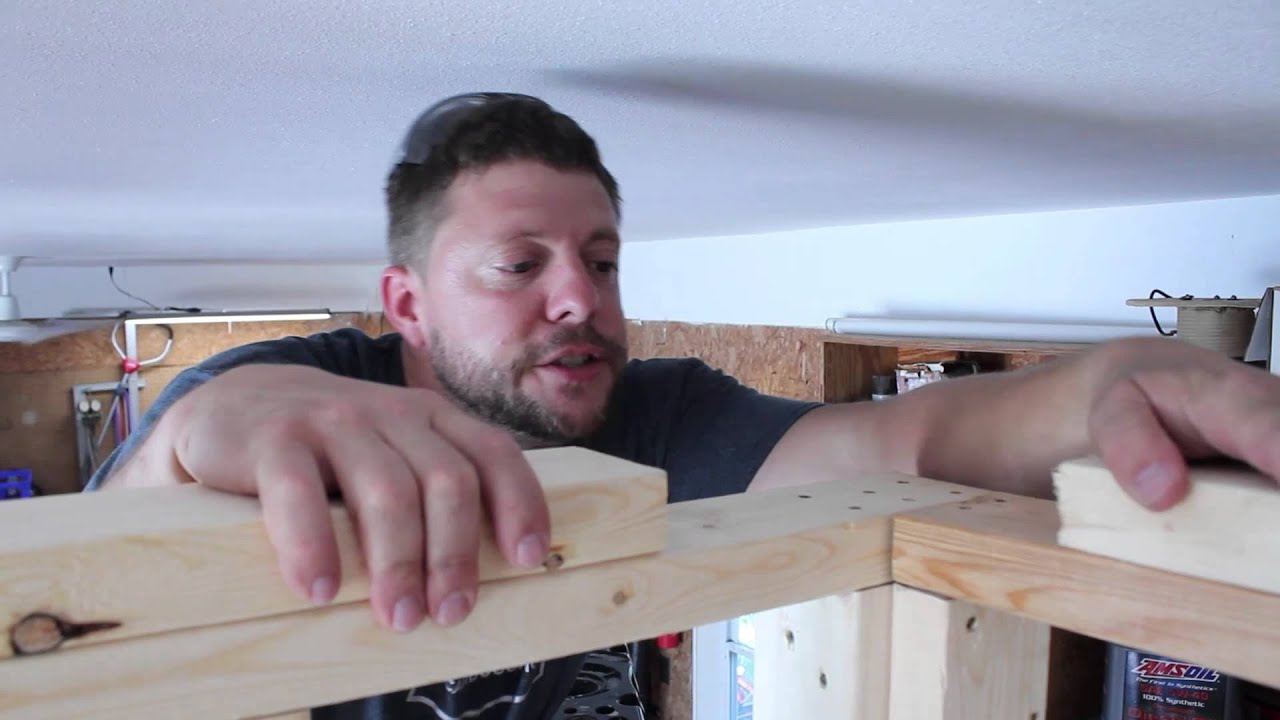 How to attach top plates after framing walls - YouTube