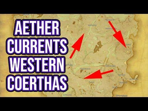 Ffxiv 3 0 0663 Aether Currents Coerthas Western Highlands Youtube