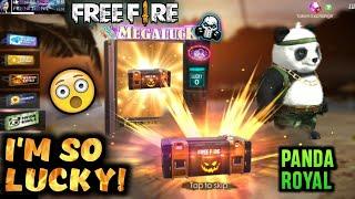 I'm So Lucky! New Panda Royal - Garena Free Fire