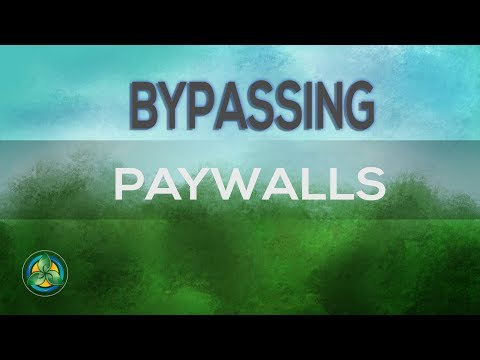 Download Get Around Paywalls Quick And Easy Way MP3, MKV