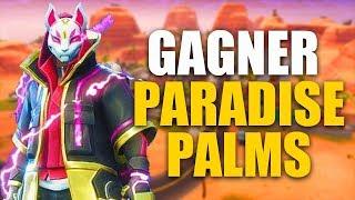 COMMENT GAGNER A LA SAISON 5 ET ATTERIR A PARADISE PALMS sur FORTNITE BATTLE ROYALE !