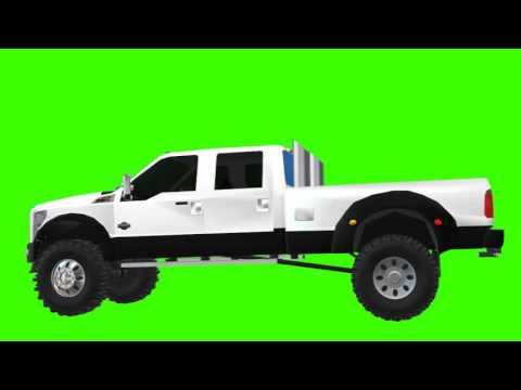 Ford F  King Ranch white chroma
