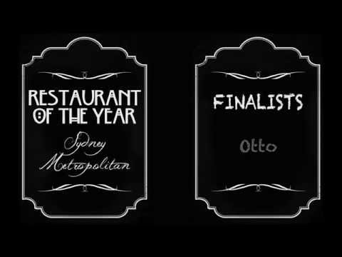 Restaurant of the Year - Sydney Metropolitan 2014 - FINALISTS