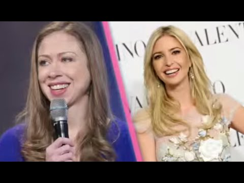 Chelsea & Ivanka   DUELING DAUGHTERS on the Trail
