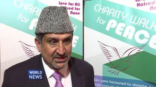 UK Ahmadi Muslims hold Charity Walk Dinner
