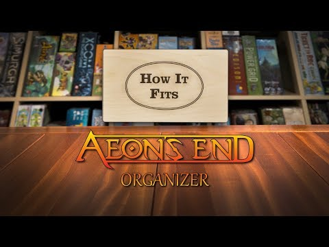 How It Fits: Aeon's End Organizer