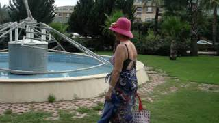 Отель Crystal De Luxe. Турция, Кемер. Дорога на пляж
