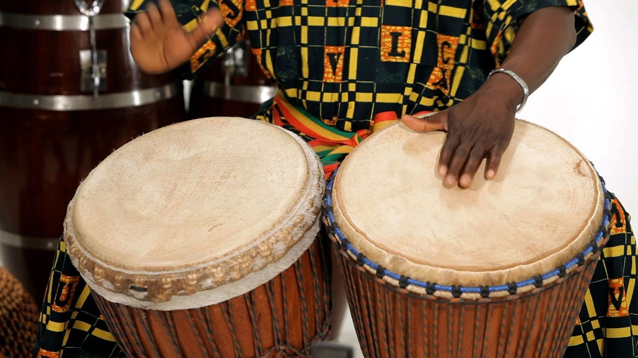 How To Play 2 Djembe Drums Together