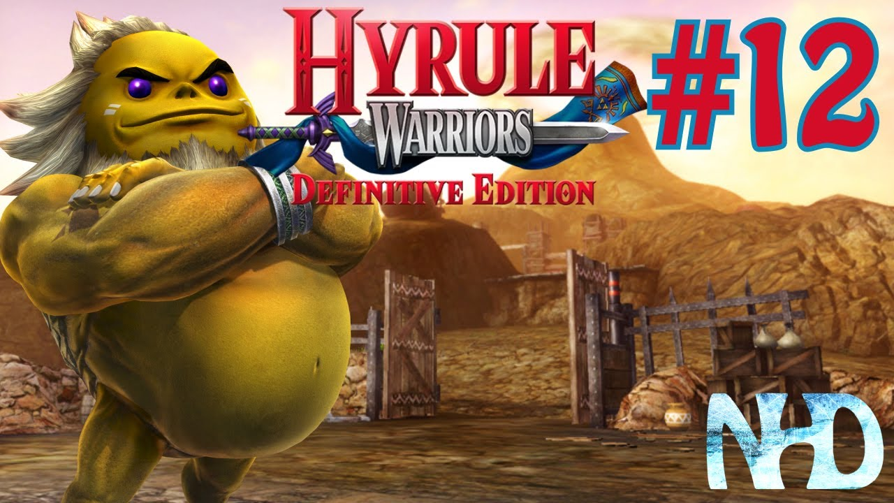 Hyrule Warriors Definitive Edition Adventure Mode Pt12 Adventure Map 12 Youtube