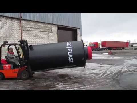 Колодцы канализационные пластиковые - производство POLEX PLAST