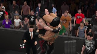 WWE 2K15- The Undertaker vs Batista Last Man Standing Match at Blacklash  2015 (PS4)