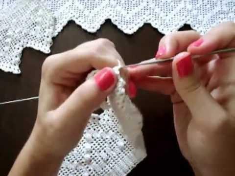 Πλέξιμο Δανδέλας με βελονάκι