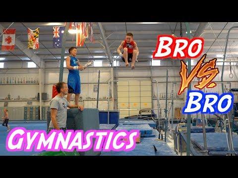 Bryton Vs Ashton Bro Gymnastics Challenge
