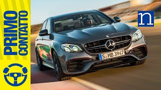 Mercedes-AMG E 63 S | 4Matic+ Drift mode | TEST