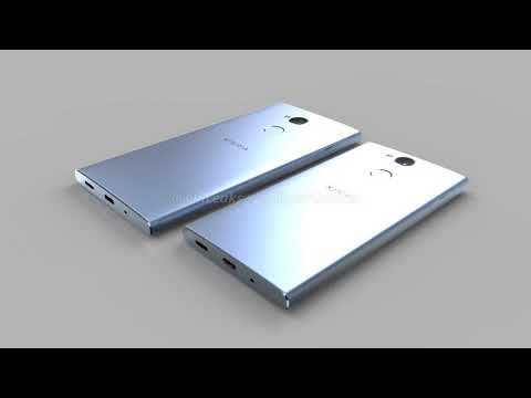 3D rendering and Specs of Sony Xperia XA2 and XA2 Ultra