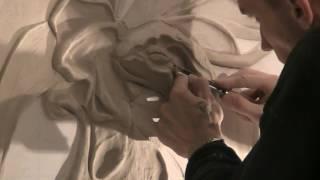 искусство барельефа.Как сделать барельеф своими руками.мастер-класс.лепнина на стене