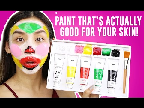 Paint That Gives You Better Skin Omg
