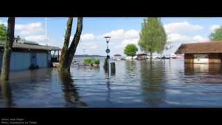 Chiemsee Hochwasser 2013 Walkthrough