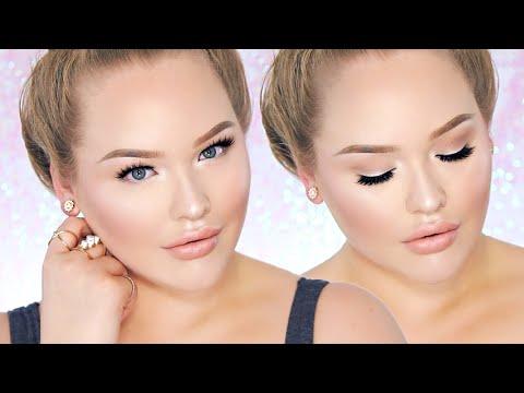 PERRIE EDWARDS Inspired Fresh/Nude Glam - Glowy Skin Makeup!