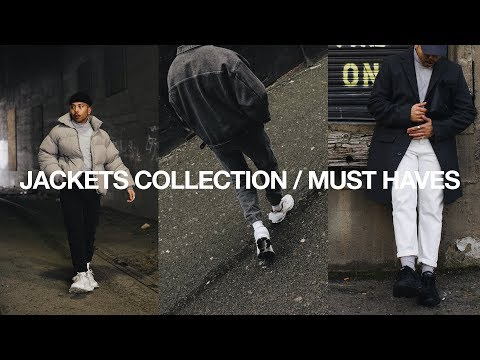 JACKETS COLLECTION / Must Have Jackets For Men | Men's Fashion Wardrobe Essentials