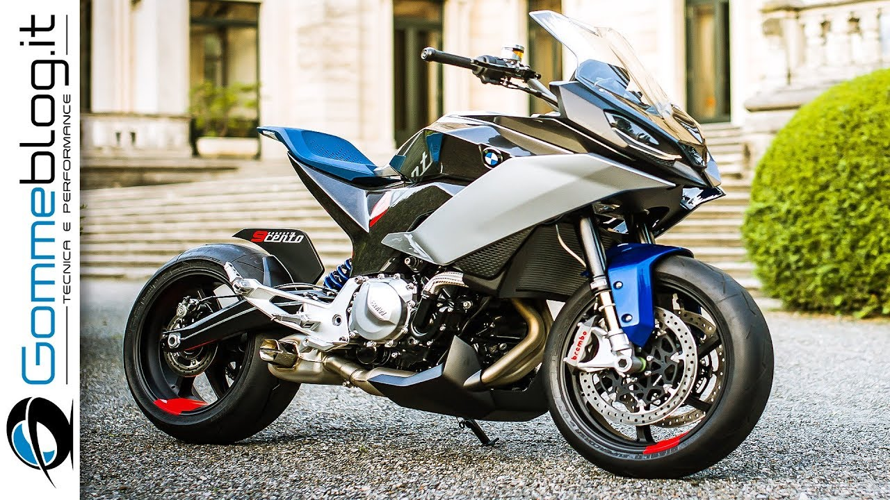 Bmw Motorrad Concept 9cento The Ideal Sports Touring Bike Youtube