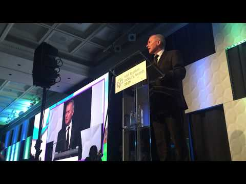 Willie Walsh, CEO, IAG speaking at the Irish Tourism Industry Awards 2019 - Unravel Travel TV