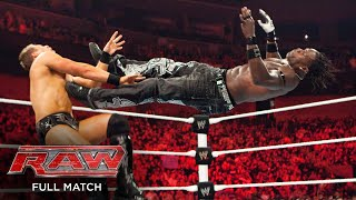 FULL MATCH: R-Truth vs. The Miz - United States Title Match: Raw, May 24, 2010